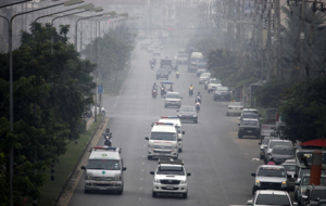 Haze problem in four border provinces